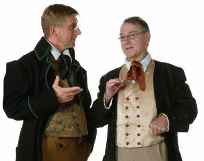 Stefan Becker und Carlo Ghirardelli alias die Brüder Grimm. Foto: Pavo Blåfield