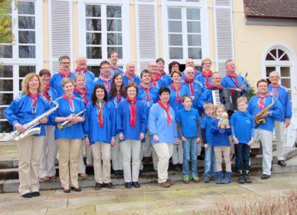 Die Gensunger Dorfmusikanten. Foto: nh