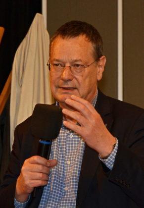 Hellmut Königshaus, ehemaliger Wehrbeauftragter des Bundestages. Foto: Reinhold Hocke