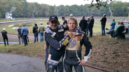 Udo Poppe und Martin Weick. Foto: Daniel Pfaff