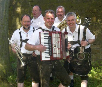 Die Original Schloppetaler Musikanten. Foto: nh