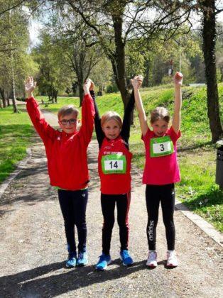 Die Teilnehmerinnen Luca, Angelina und Emilia. Foto: nh