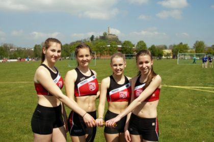 Lea-Marie Pech, Imke Hofmann, Sophie Szaratta und Hannah Bohl (v.l.). Foto: nh