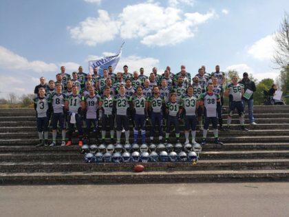 Das Team der Schwalmstadt Warriors. Foto: nh
