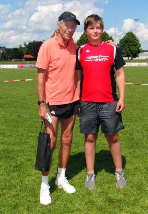 Olympiateilnehmer Thomas Zacharias und Hessenmeister Luis André erzielten die besten Leistungen in Allendorf. Foto: nh