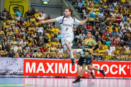 Bester Torschütze für die MT war Kapitän Michael Müller (5). Foto: Alibek Käsler