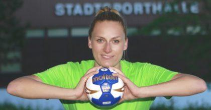 Katarzyna Demianczuk , Kirchhofs neue Torfrau für die Zweite Bundesliga. Foto: SG 09 Kirchhof