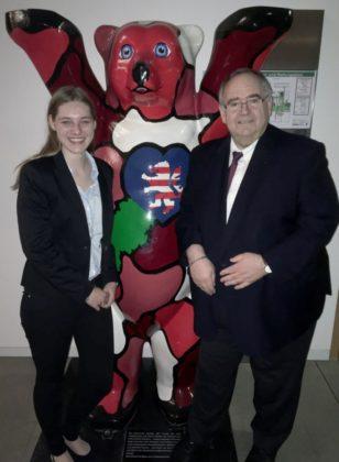 Carolin-Charlotte Tegtmeier und Bernd Siebert. Foto: nh
