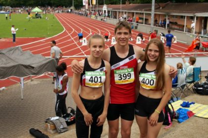 Malin Wagner, Fabian Feldmann und Franka Scheuer (v.l.). Foto: nh