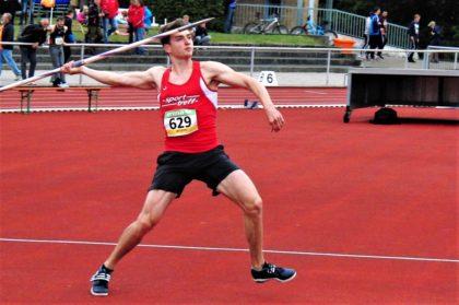 Erster Wurf von Henri Alter: 60,74 Meter. Foto: nh