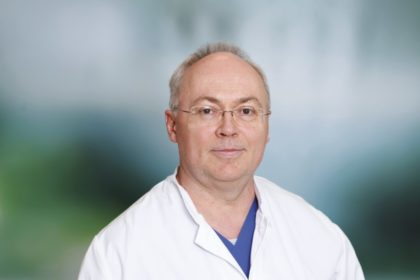 Paul Peters, Leitender Oberarzt Gastroenterologie am Asklepios Klinikum Schwalmstadt. Foto: Ruhl