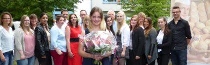 Lob und Anerkennung erhielten die neuen Bäcker und Bäckereifachverkäuferinnen für ihre Prüfungsleistungen. Foto: Wolfgang Scholz
