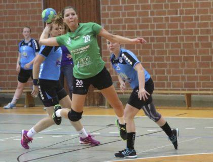 Allrounderin Sandra Kühlborn, selbst gerade 25 Jahre jung, soll ihre Erfahrungen in das ganz junge Team einbringen. Der Altersdurchschnitt liegt bei 20,0 Jahren. Foto: SG 09 Kirchhof