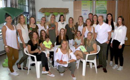 Ein großes und attraktives Team: Kirchhofs Damenmannschaften im Jubiläumsjahr: 50 Jahre Damenhandball Kirchhof! Foto: SG 09 Kirchhof