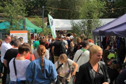 Gut Besucht: das Tierheimfest des Tierheims Beuern. Foto: nh