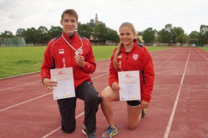 Fabian Feldmann und Franka Scheuer. Foto: nh