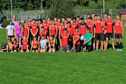 Die Melsunger Turngemeinde stellt mit 43 gemeldelten Leichtathleten das größte Team vor dem TSV Remsfeld (36) und dem TSV Geismar (25). Foto: nh