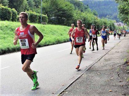 Lorenz Funck,  Startnummer 308, lag nach zwei von vier Runden noch sehr gut im Rennen. Foto: nh