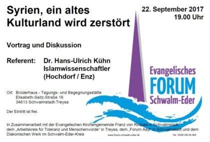 Quelle: Evangelisches Forum Schwalm-Eder