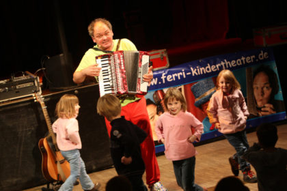 Kinderliedermacher Ferri. Foto: nh