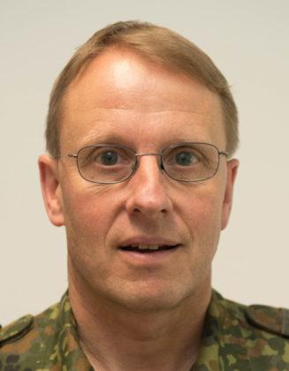 Oberst i.G. Friedbert Stemann. Foto: nh