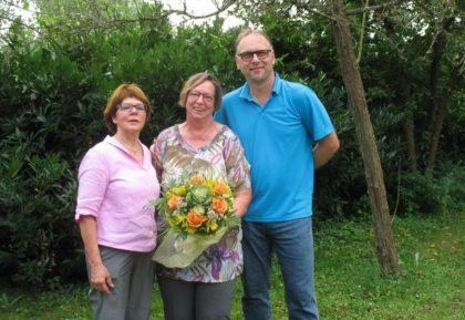 Inge Fleschenberg, Rita Lüttgen und Andreas Reckziegel (v.l.). Foto: nh