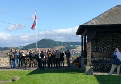 Bläsergemeischaft des Jagdvereins Hubertus, Guxhagen. Foto: nh
