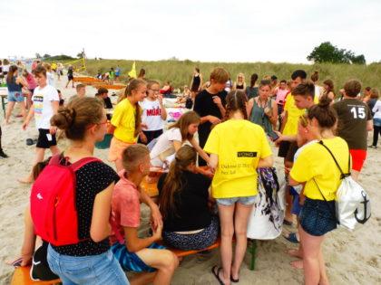 Großer Andrang beim Strandfest. Foto: Dieter Werkmeister