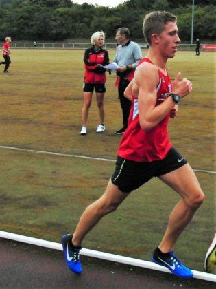 Lorenz Funck verbessert sich über 3000 Meter auf 9:11 Minuten. Foto: nh