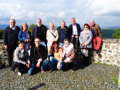 Die Gruppe auf dem Heiligenberg. Foto: Dieter Werkmeister