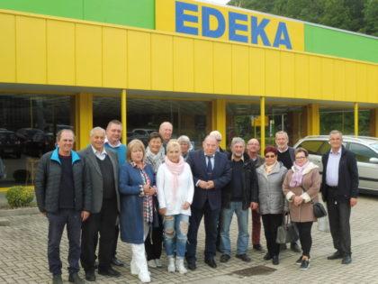 Besuch bei Edeka in den Pfieffewiesen. Foto: Dieter Werkmeister