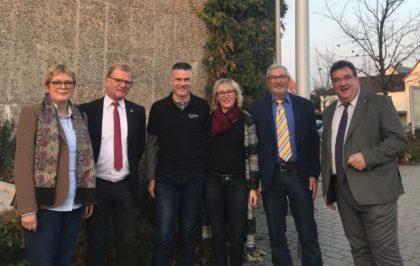 Mark Weinmeister mit Vertretern des Städtepartnerschaftsvereins Borken-Merù. Foto: nh