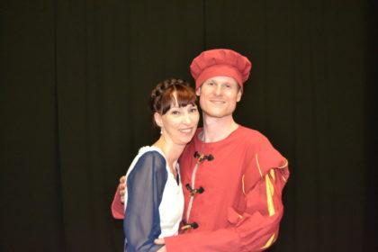 Der Trommler und die falsche Prinzessin. Foto: nh