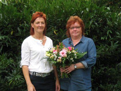 Ingrid Gömpel und Erika Bambey (v.l.). Foto: nh