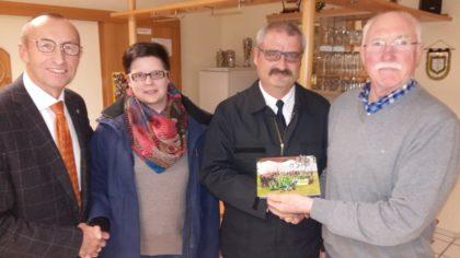 Christian Engel, Kerstin Freund, Jörg Rohde und Hans-Dieter Nitsch (v.l.). Foto: Gert Wenderoth