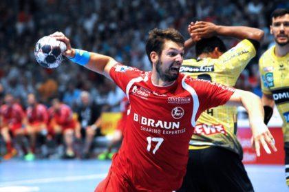 Felix Danner im Spiel gegen die Rhein-Neckar Löwen in der vergangenen Saison. Foto: Heinz Hartung