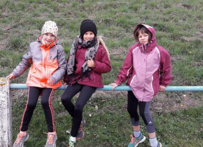 Anglina Pfeifer, Leonie Harle und Celina Ide. Foto: nh