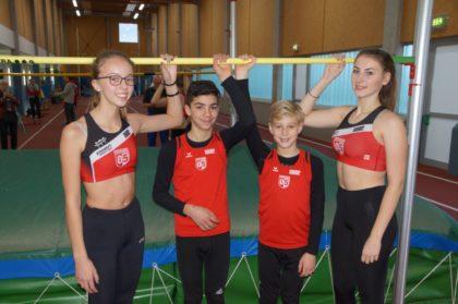 Christina Zuban, Marcel Al-Batat, Justin Enis und Lea-Marie Pech (v.l.). Foto: nh