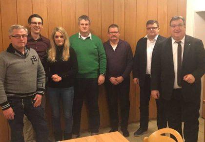 Michael Gutheil, Marco Rösner, Christin Ziegler, Dieter Rericha, Berthold Eckhardt, Marc Liebermann und Mark Weinmeister (v.l.). Foto: nh
