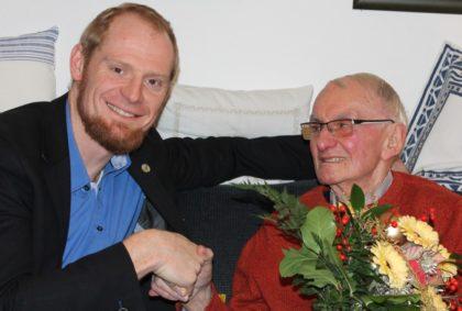 Diakon Björn Keding, Geschäftsführer der Diakonischen Gemeinschaft Hephata, und Diakon Joachim Neumann (v.l.). Foto: nh