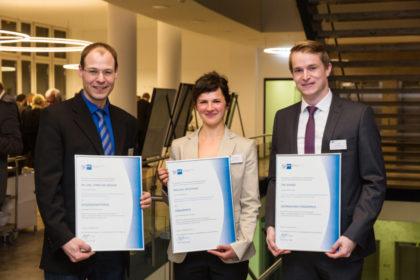 Dr.-Ing. Christian Nöding, Paulina Majewska und Tim Schade (v.l.). Foto: nh
