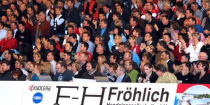 Das Spiel MT gegen Kiel am 26. Dezember 2007. Foto: Heinz Hartung