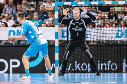 Mit Johan Sjöstrand kann sich die MT auf einen Keeper der Extraklasse verlassen. Foto: Alibek Käsler