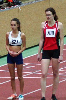 Luise Zieba gelang sehr gut der Wechsel vom Crosslauf zum Hallenboden. Foto: nh