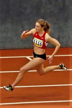 Sophia Hog verbesserte sich über 200 Meter auf 27,08 Sekunden. Foto: nh