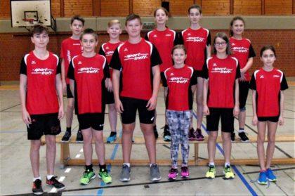 Das MT-Team der U14-12 bei der Hallen-Kreismeisterschaft. Foto: nh