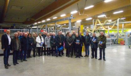 Der Rotary Club zu Besuch bei Ehring. Foto: nh