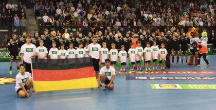 Foto vom Spiel am Freitag in Stuttgart gegen Island. Foto: BK