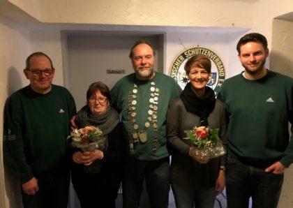 Hans-Martin Bräuning, Doris Berger, Klaus Hangen, Chantal Blumenauer und Sebastian Schuwirth (v.l.). Foto: nh