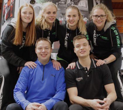 Das Trainerteam mit Cheftrainer Udo Horn (vorn links). Foto: SG 09 Kirchhof